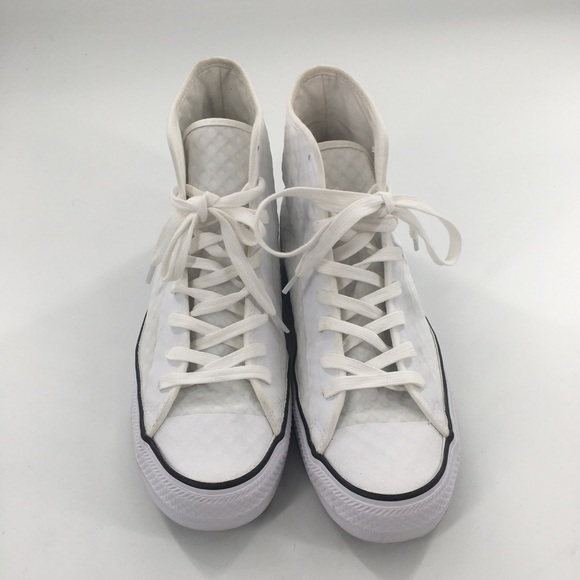 Converse All Star White Hi Fuse Sneakers